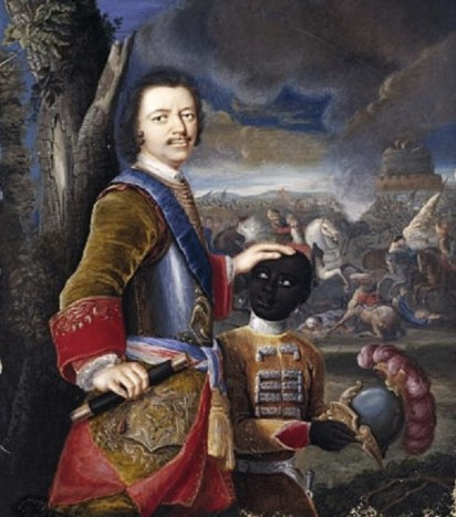 1707 Gustav von Mardefeld Portrait of Peter the Great, Tsar of Russia (1672-1725)