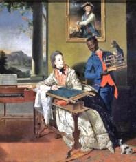 1780 Jean-Louis Voille (1744-1803) Portrait of Evdokiya Nikolayevna Chesmenskaya
