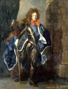 1790s Hyacinthe Rigaud (1659-1743) Portrait of Louis, Prince of Condé (1668–1710),