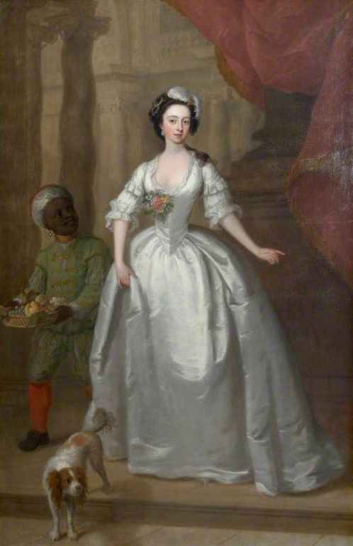 Phillips, Charles; Mary Helden (1726-1766), with Her Black Page; National Trust, Sprivers; http://www.artuk.org/artworks/mary-helden-17261766-with-her-black-page-220899