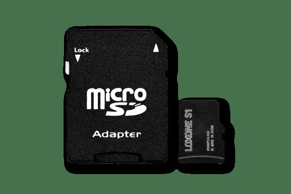 • 1x 8GB Micro-SD Karte mit Firmware für Loxone Miniserver