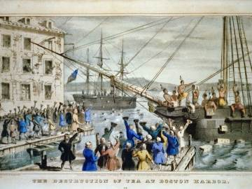 Frieden von Paris - Boston Tea Party
