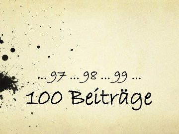 100 Artikel, Beiträge