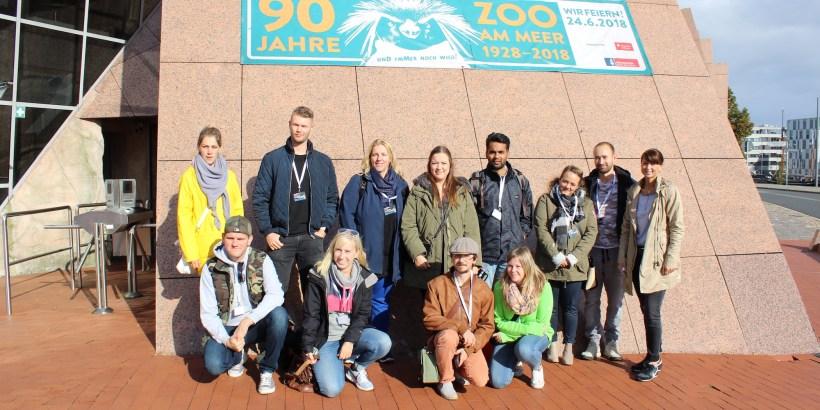 Gruppenfoto InstaWalk Zoo am Meer