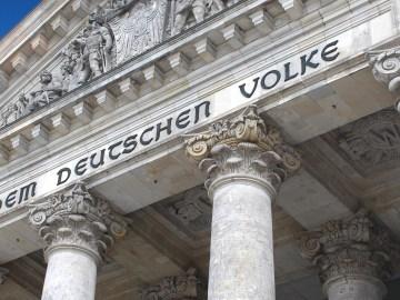 Berlin / Reichstag - Dem Deutschen Volke