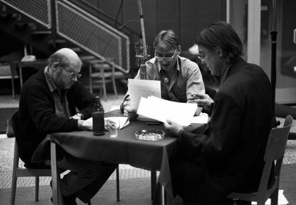 Hans Gerd Krogmann, Gottfried John und Hermann Treusch; Bild: SWR / Metzger