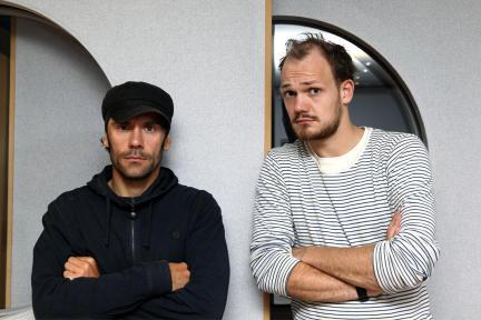 Daniel Wiemer und Matti Krause; Bild: WDR / Sibylle Anneck