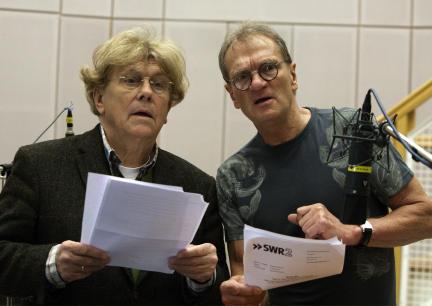 Tommi Piper und Joachim Kaps; Bild: SWR / Monika Maier
