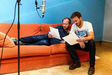 Torben Kessler und Andreas Pietschmann; Bild: WDR/Fahri Sarimese