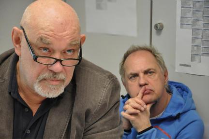 Hans-Martin Stier, Uwe Ochsenknecht; Bild: WDR / Sascha von Donat