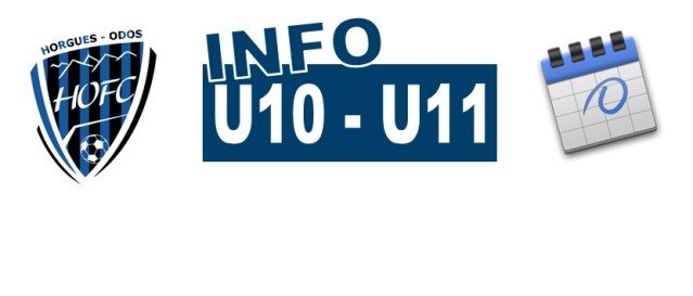 [U10/U11] Les poules du critérium connues