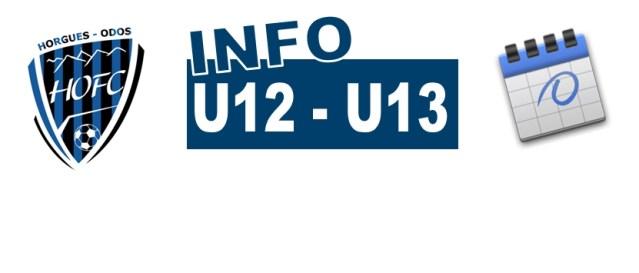 U12-U13 : Joueur de la semaine
