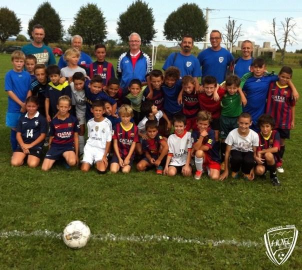 Reprise école de foot (04 09 2015 )