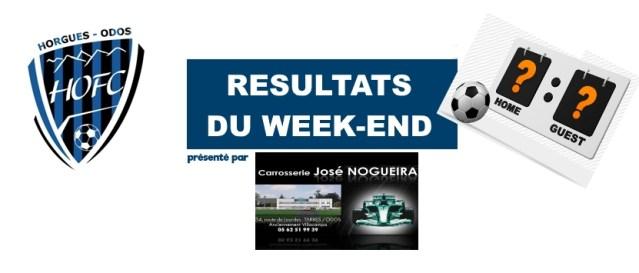 [CLUB] Les résultats du week-end