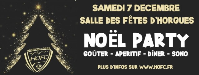 [NOËL PARTY] Menu et tarif