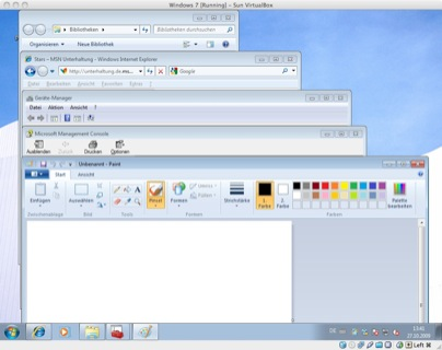Windows 7 Toolbars