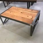 Coffee Table Industrial Style J Hoffman Lumber Company