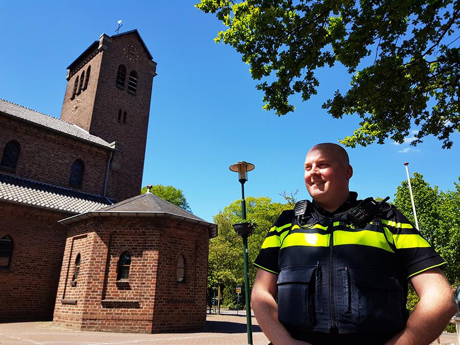 Wijkagent Martijn van Lubek: 'Zonder de mensen in de wijk kan ik mijn werk niet goed doen'