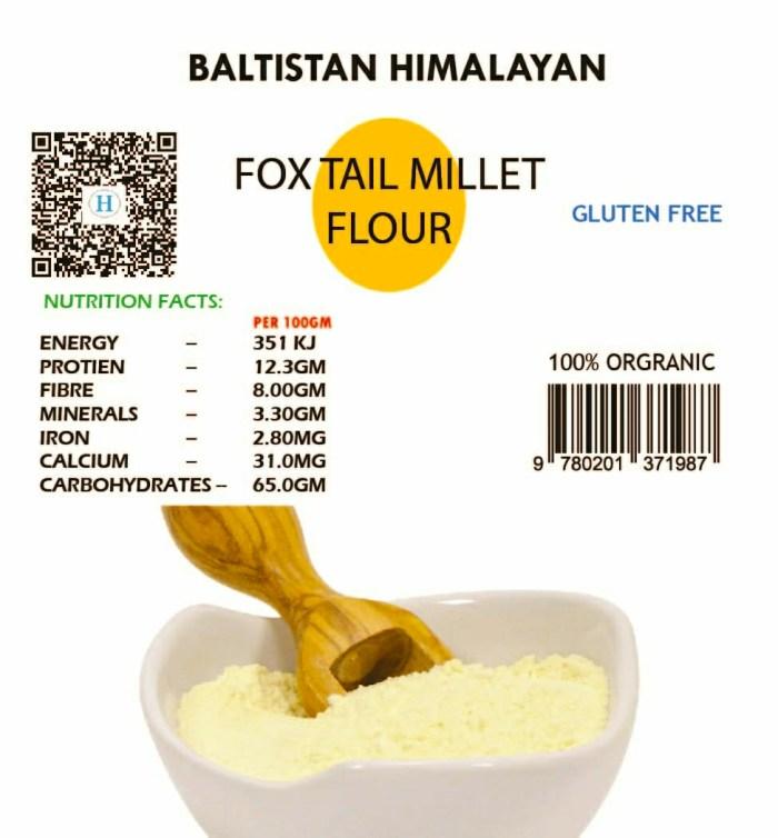 Foxtail Millet Flour