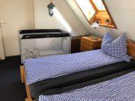 Unser Bett für kleine Gäste