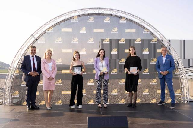 Die Jury-Gewinner.