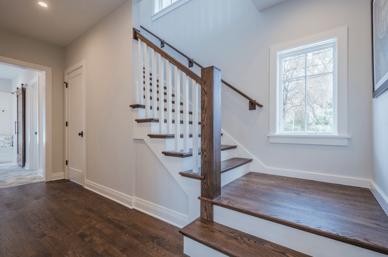 A Guide To Disinfecting Cleaning Your Wood Banisters   Wooden Banisters And Railings   Interior   Small   Horizontal   Creative Diy   Hand