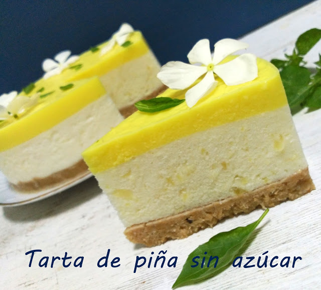 tarta-de-pina-sin-azucar