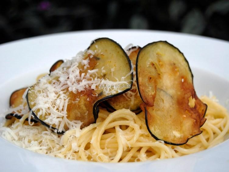 espaguetis-con-berenjenas
