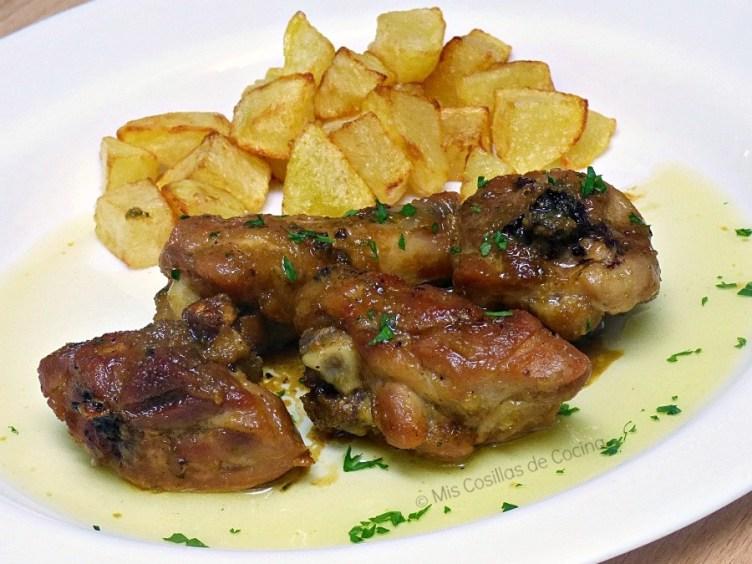 pollo-al-ajillo-con-miel-y-soja