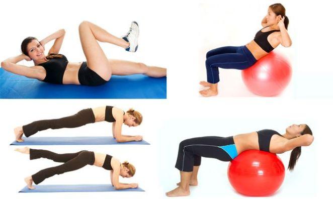 Resultado de imagen de ejercicio abdominales