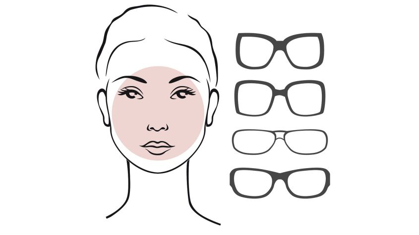 round face glasses