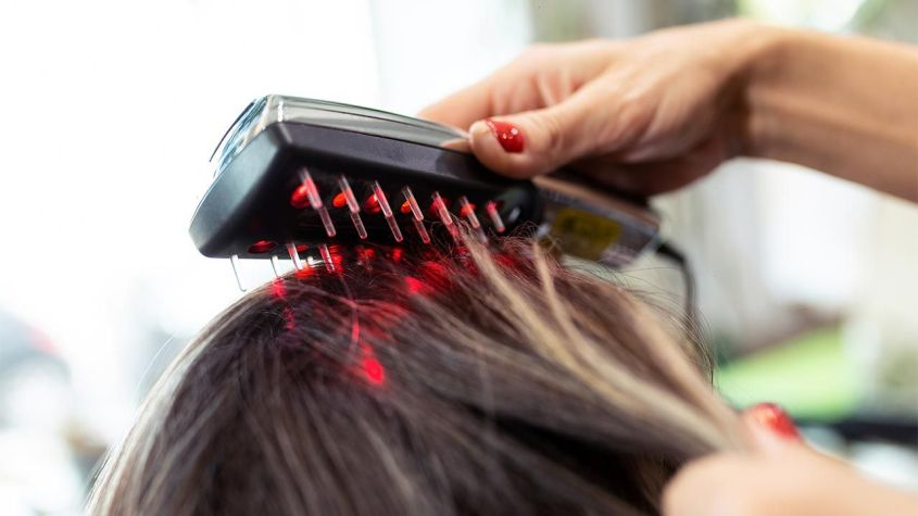 Hair laser or red light treatment for hair growth