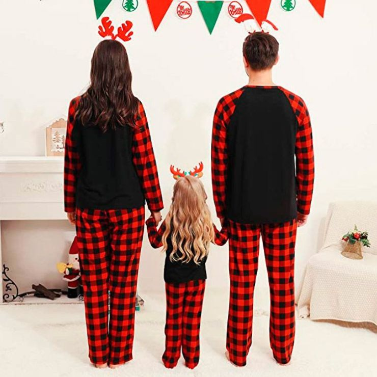 Christmas Family Pajamas - Plaid
