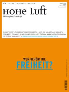 HOHE LUFT Ausgabe 3/2012