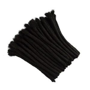 afro kinky human hair crochet dreadlocks
