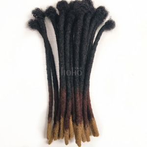 faux locs hair curly ombre 3 tones