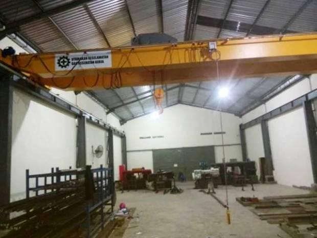 Bengkel Konstruksi Overhead Crane di Indonesia