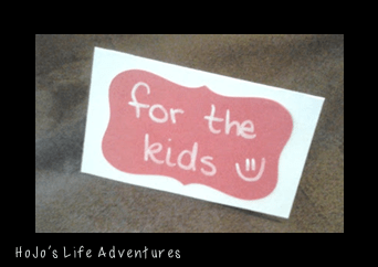 Save that Dish for the Kids! {Easy DIY Sign}