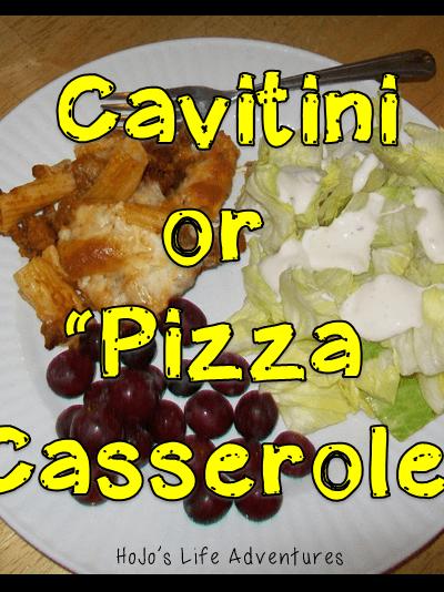 Cavatini (Pizza Casserole) Recipe