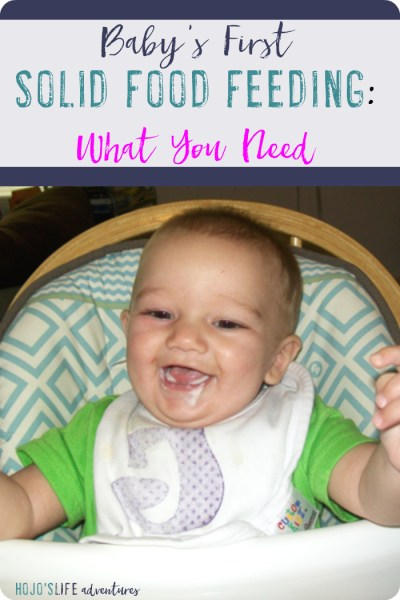 Baby's First Solid Food Feeding – What You Need