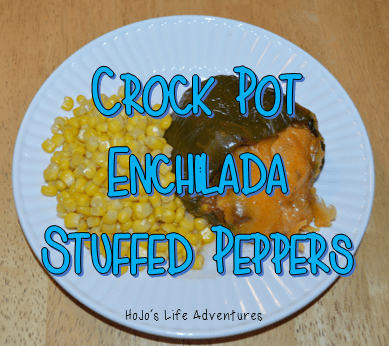 Crock Pot Enchilada Stuffed Green Peppers