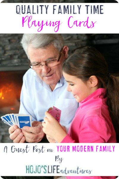 Quality Family Time: Playing Cards