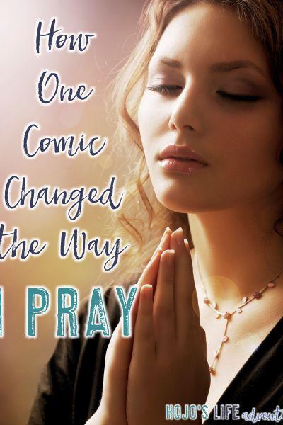 How One Comic Changed the Way I Pray