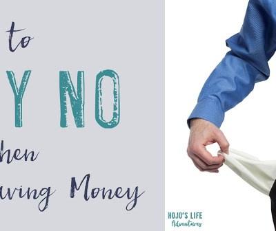 Ways to Say No When Saving Money