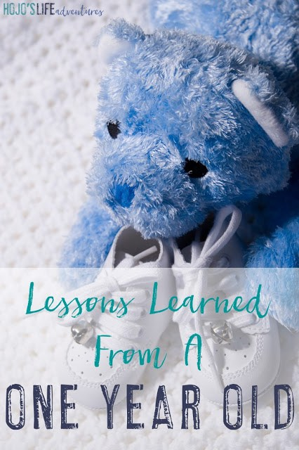 There are many lessons to learn when you become a mom. Here are the lessons learned from a one year old by a first time mom.