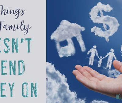 15 Things Our Family Doesn't Spend Money On