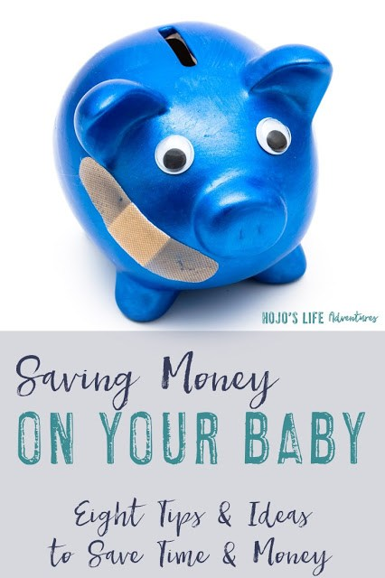 Here are eight tips and ideas for saving money on your baby. Practical ideas that can really add up over time! If you are a new or expecting parent, click through to check them all out!