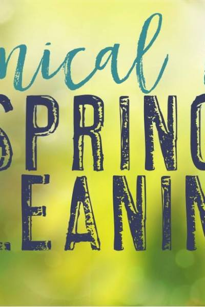 Chemical Free Cleaning: Spring Cleaning Style