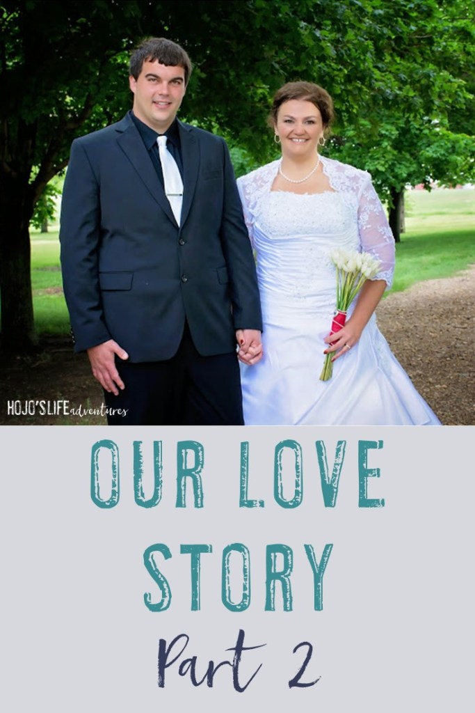 Do you want to get to know Heather - the writer behind HoJo's Life Adventures? Here she shares part 1 of her love story to Andrew. {Our Love Story: Part 2}