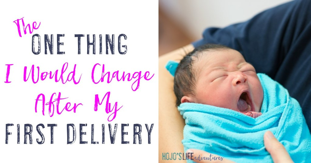 Are you a pregnant momma who's trying everything in her power to learn all you need to know about the delivery? This mom shares the one thing she wishes she had done differently in her first delivery and the hospital stay that followed.